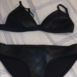 Black Triangl Bikini